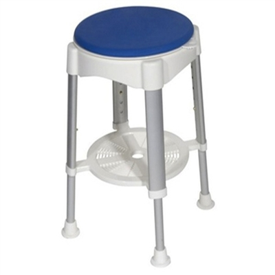 Drive Rtl12061 Shower Stool With Padded Rotating Seat