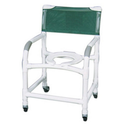 MJM Wide Deluxe PVC Shower Chair 122-3  sc 1 st  Medical Department Store & MJM Wide Deluxe PVC Shower Chair 122-3 | Bath Commodes