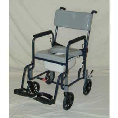 Activeaid 480 8 Stainless Steel Shower Commode Chair