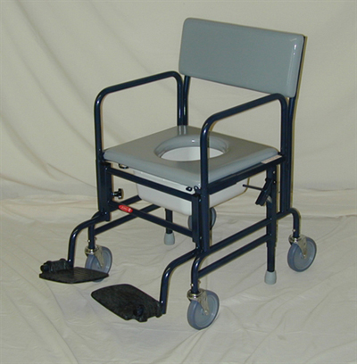 Activeaid 461 Shower Commode Chair With 5 Quot Wheels