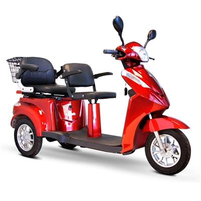 Ewheels Ew 66 2 Person 3 Wheel Power Scooter Mobility