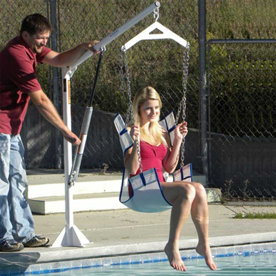 Ez Power Pool Lift By Aqua Creek Pool Amp Spa Lifts