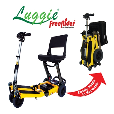 Luggie Folding Standard Travel Scooter Travel Mobility