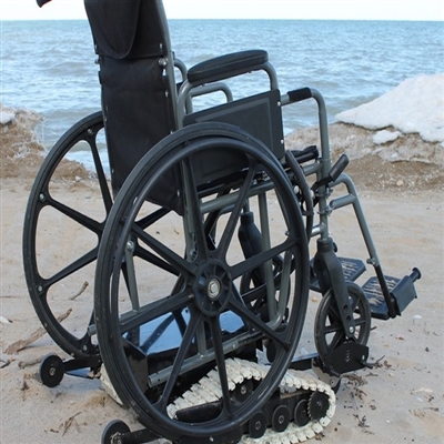 Vehicle Tracking Device >> Freedom Trax - Powered Track Device For Manual Wheelchairs.