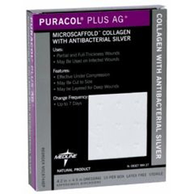 Puracol Plus Ag+ Wound Dressing with Antibacterial Silver ...
