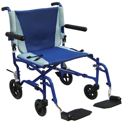 Drive TS19 TranSport Aluminum Transport Chair Travel