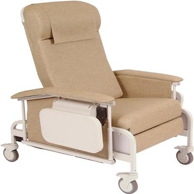 Winco 6551 CareCliner Drop Arm Geriatric Chair
