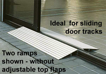 Wheelchair R& & EZ-ACCESS THRESH Aluminum Threshold Ramp